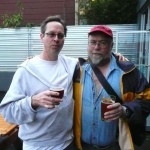 It's Pub Night's Bill Night (left) and the Oregonian's John Foyston