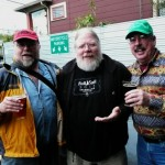Beer writer John Foyston, Brewmaster John Harris, and beer educator Marc Martin at APEX