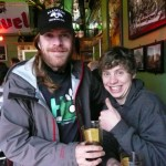 Alameda head brewer Carston Haney (left) and assistant brewer Marshall Kunz