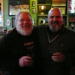 Brewmasters: Full Sail's John Harris (left) and Bear Republic's Peter Kruger