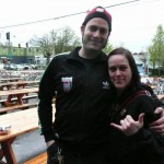 Cascadian Beer celebrities Abram Goldman-Armstrong and Amy Welch