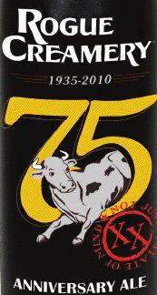 Rogue Creamery 75th Anniversary Ale