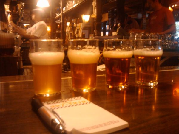 Beer Tasters at the Horse Brass