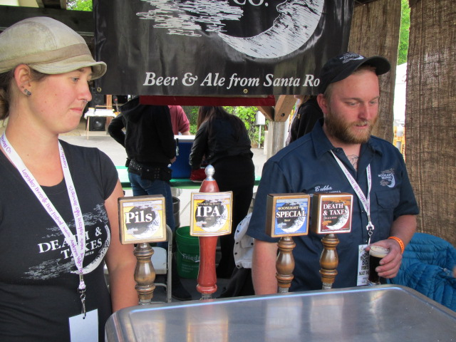 Moonlight Brewing crew at Boonville Beer Fest