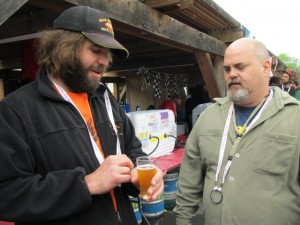 Bear Republic brewers at Boonville Beer Fest