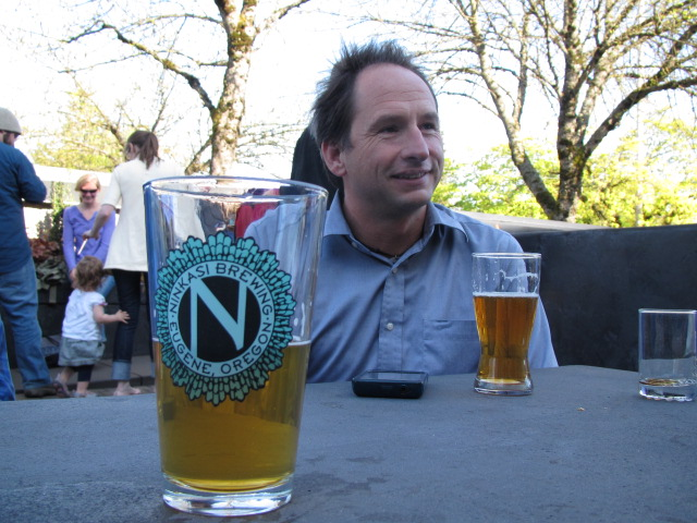 Ninkasi founding brewer Jamie Floyd