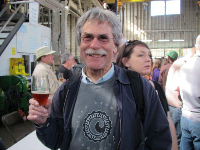Portland beer pioneer Fred Bowman at PCTBB