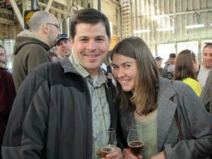 Bailey's Taproom's Geoff Phillips and Emma Beckman