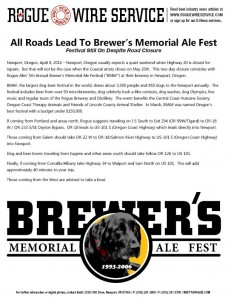 Rogue Brewer's Memorial Ale Fest