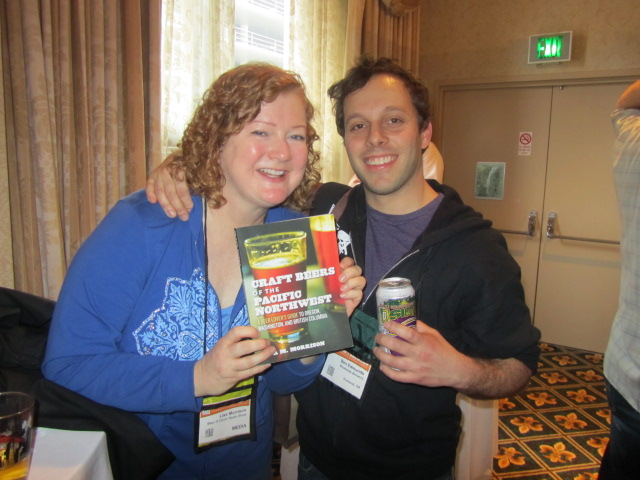 Lisa Morrison and Ben Edmunds