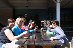 Ladies of Lagers & Ales at the Lucky Lab