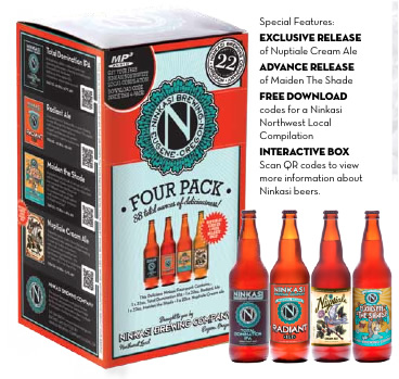 The Ninkasi Summer 4 pack.