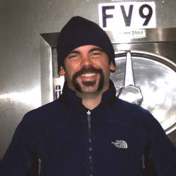 Brewer Dave Pendelton (photo by Washington Beer Blog)