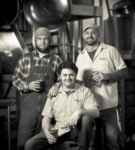 Burnside Brewing crew L to R: Jason McAdam, Adam Cassie, Jay Gilbert (photo courtesy of Maletis Beverage)