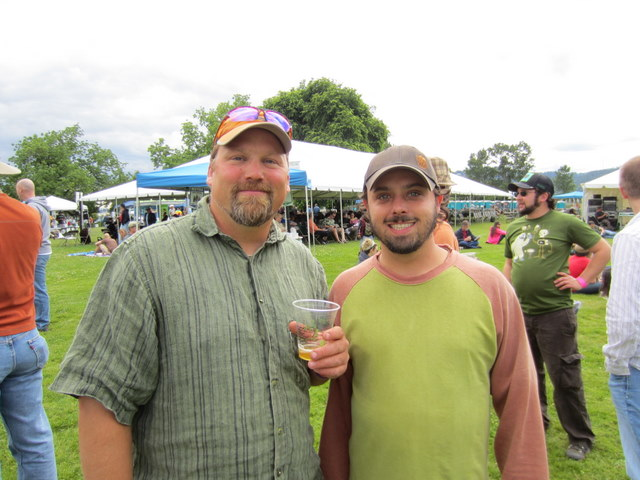 Chuck and John from Logsdon Farmhouse Ales