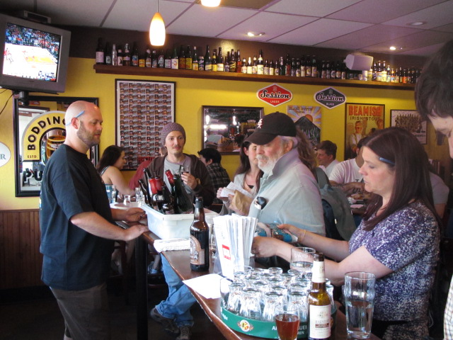 The Bier Stein's Dave Stockenhaus (left) serves up some of the best brews in Oregon