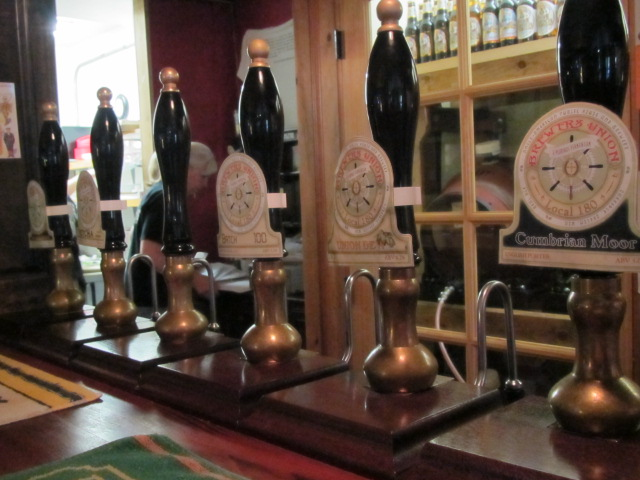 Beer engines at Brewers Union Local 180