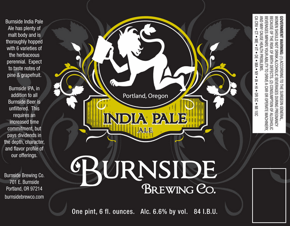 Burnside Brewing Co. India Pale Ale