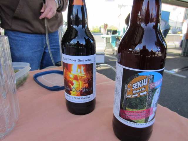 Interesting brews from Slip Point
