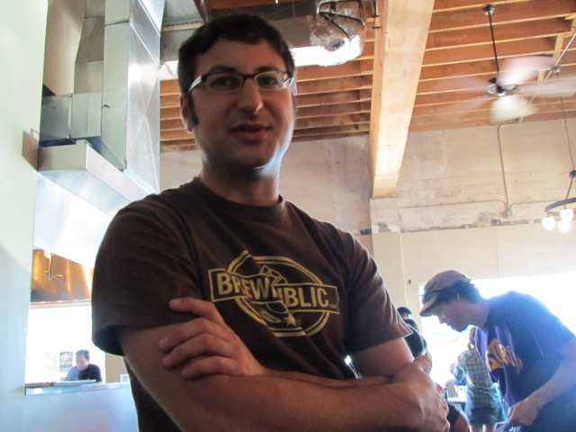 Upright's Alex Ganum of Upright Brewing