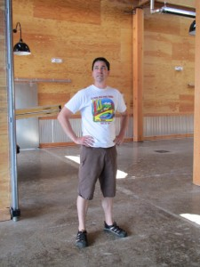 Beetje founder/brewer Michael Wright