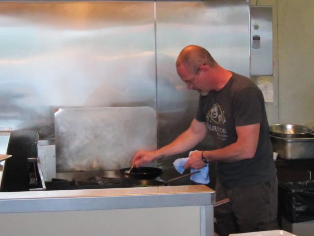 Burnside Brewing Cheff Ronnie Vance