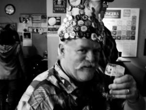 Mustache champion Lars Walters
