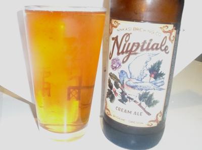 Ninkasi-Nuptiale-Cream-Ale. They put a bird on it!