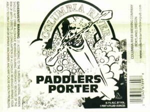 Columbia River Paddlers Porter