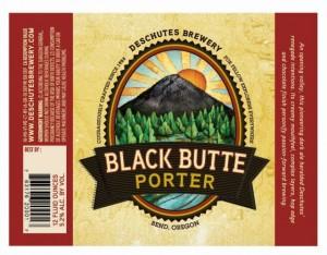 Deschutes Black Butte Porter Label