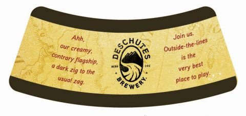 Deschutes Black Butte Porter Neck Label