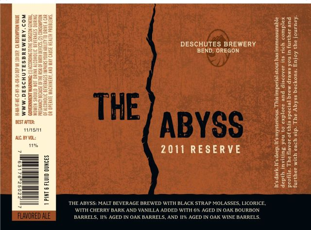 Deschutes The Abyss 2011