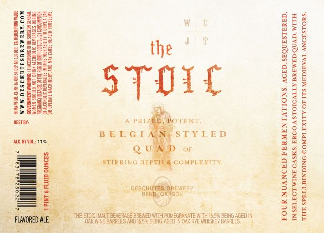 Deschutes The Stoic Belgian-Styled Quad