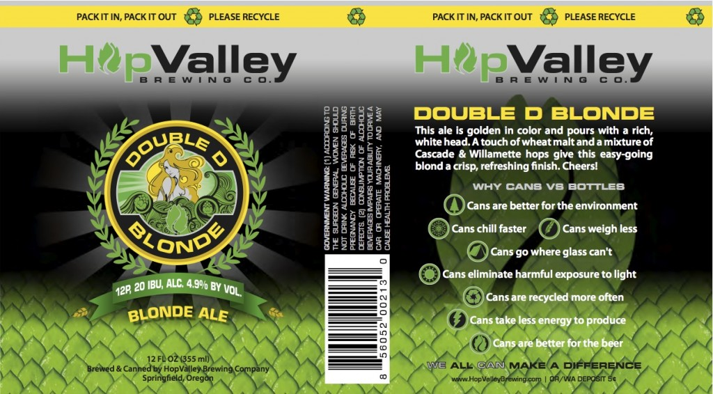 Hop Valley Double D Blonde