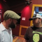 Burnside Brewmaster Jason McAdam (left) and 10 Barrel Brewmaster Jimmy Seifrit