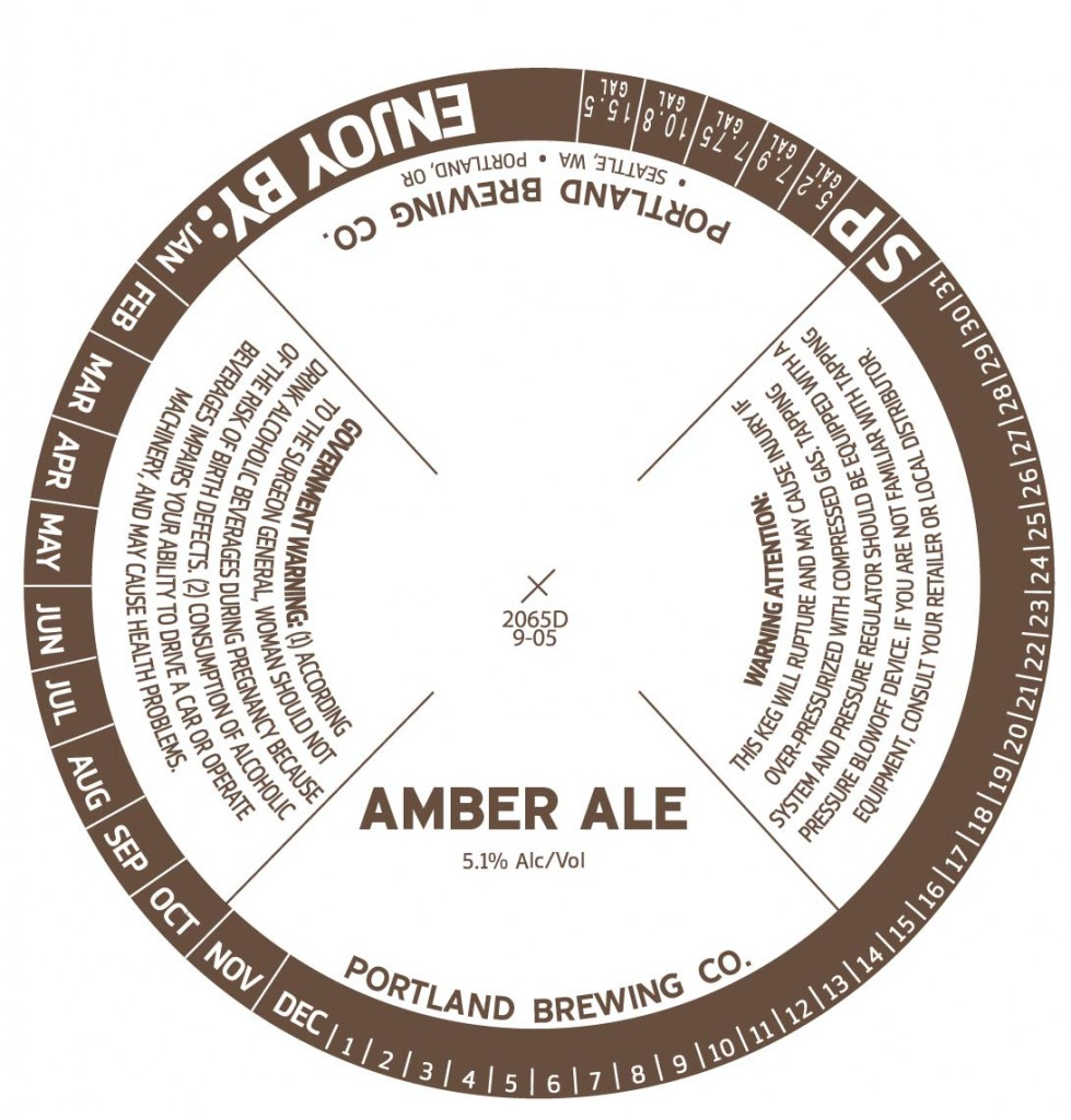 Portland Brewing Co. Amber