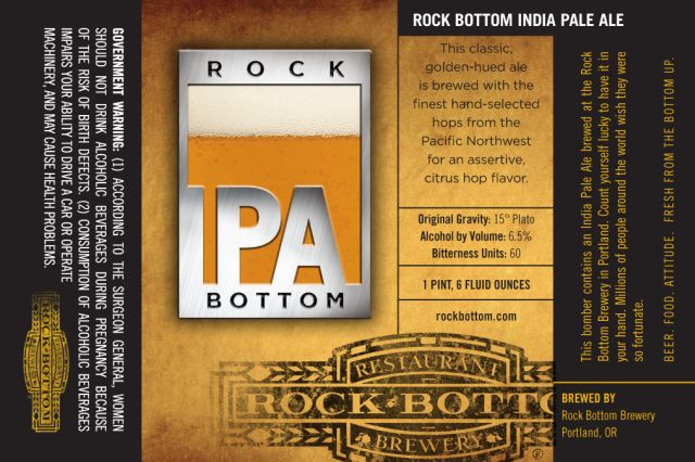 Rock Bottom IPA