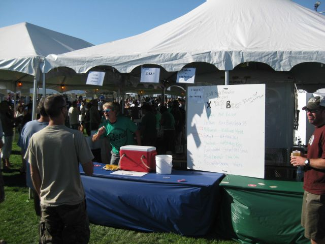 Bend Brewfest X-Tap Tent