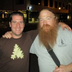 Jason Wallace of Portland Beer &amp; Music blog (left) with Charles Culp of An Ear For Beer blog