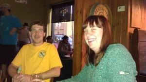 VanCrewVer: Ryan and Jennifer at Roscoe's for KillerBeerWeek Kickoff