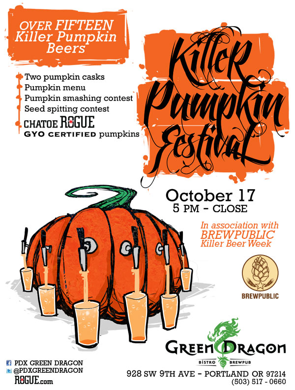 Brewpublic Presents Green Dragon Killer Pumpkin Fest