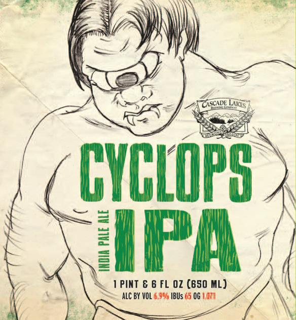 Cyclops IPA From Cascade Lakes Brewing