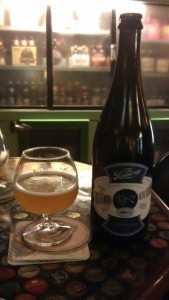 Faster, Bigger, Better, Bolder (Gradually, Quietly, Steadily) - a collaboration beer between Dogfish Head and the Bruery