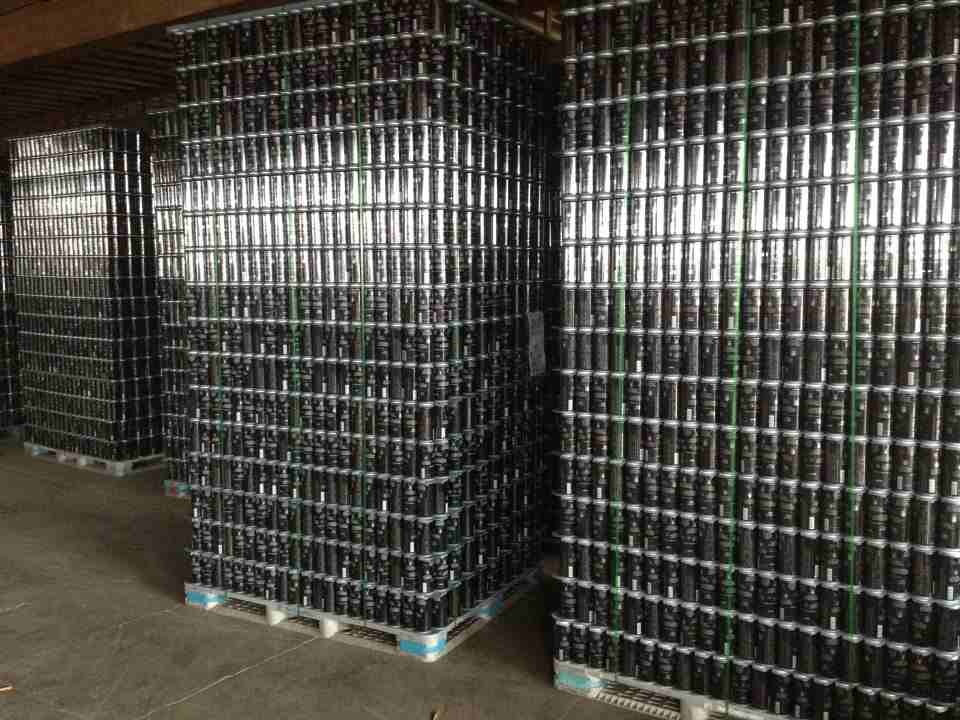 Fort George Cavatica Stout in Cans