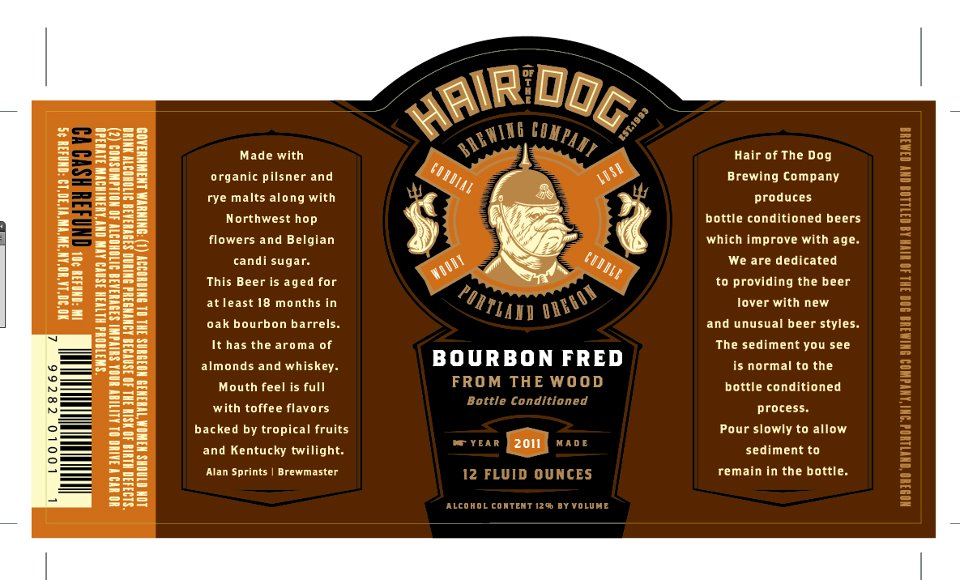 Hair of the Dog Bourbon Fred from the Wood