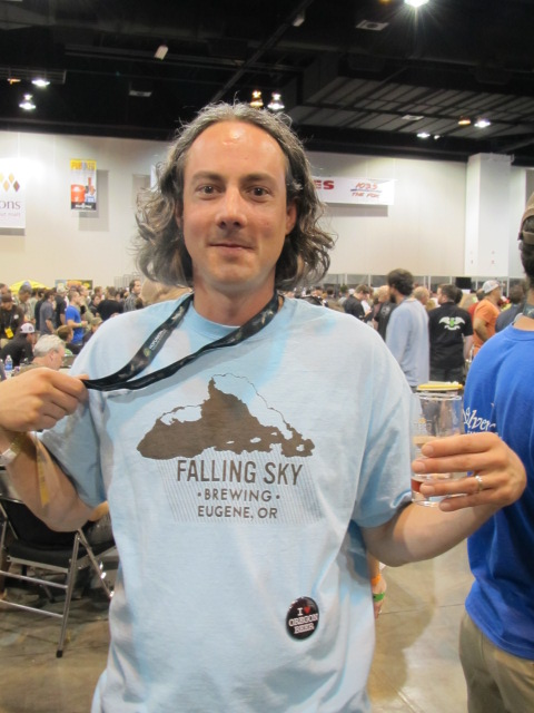 Jason Carriere of Falling Sky Brewing
