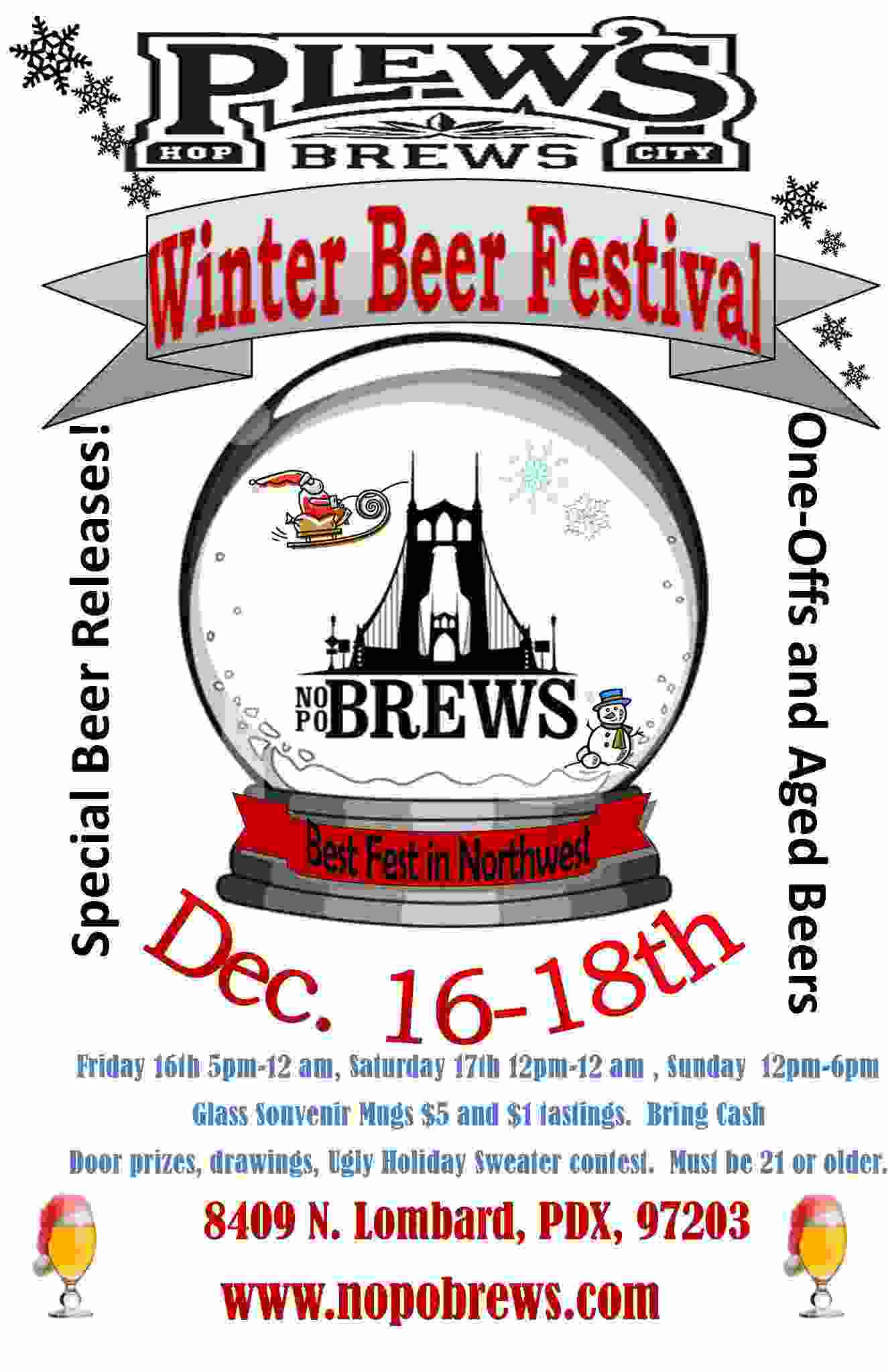 Plew's Brews Winter Beer Festival
