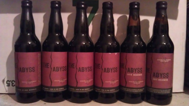 Six year vertical of Deschutes The Abyss