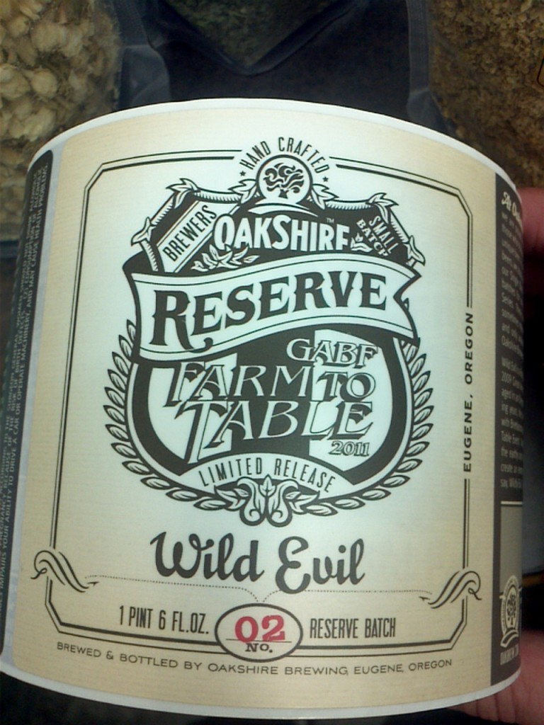 Oakshire Reserve Wild Evil is a white whale beer geek's delight