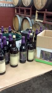 Oakshire Wild Evil and Hellshire II bottles